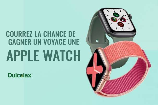 Gagner une Apple Watch Series 5 GPS